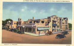 La Fonda Hotel At The End Of The Santa Fe Trail