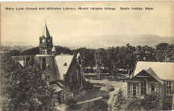Mary Lyon Chapel And Williston Library, Mount Holyoke College