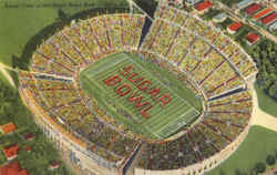 Aerial View Of The Sugar Bowl