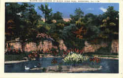 Bluffs And Lagoon At Black Hawk Park Postcard