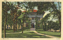 Annie Mae Swift Hall, Northwestern University Postcard