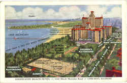 Edgewater Beach Hotel, 5300 Block Sheridan Road