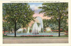 Fountain In Meyer Circle, 63rd and Ward Parkway