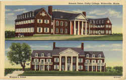 Roberts Union, Colby College Postcard