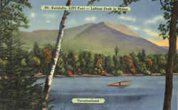 Mt. Katahdin, Vacationland