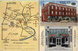 Webster Hotel Map