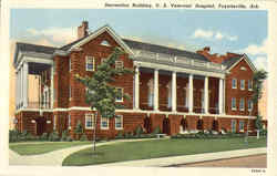 Recreation Building, U. S. Veterans Hospital