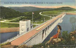 Scenic View Of Norfork Dam