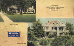 Homes Of Those Famous Radio Stars Lum And Abner