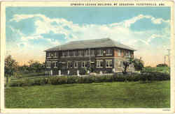 Epworth League Building , Mt. Sequoyah