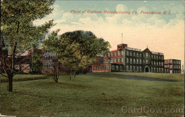 Plant of Gorham Manufacturing Co Providence Rhode Island