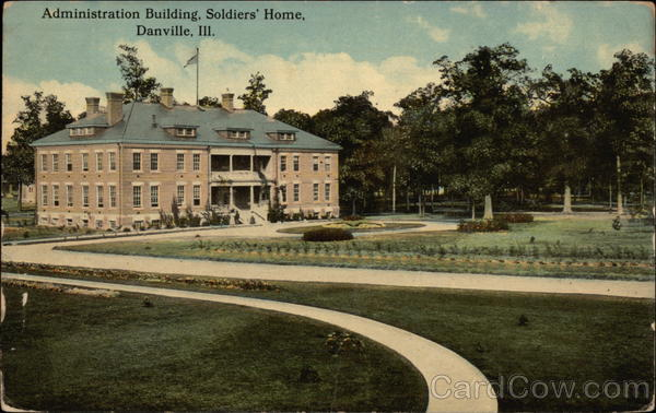 Administration Building, Soldiers' Home Danville Illinois