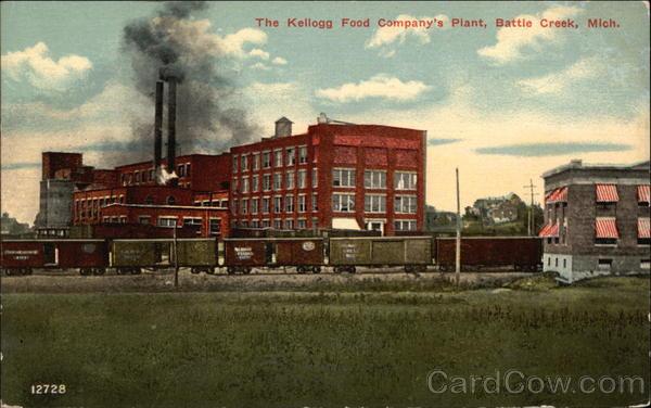 the kellogg food company u0026 39 s plant battle creek  mi