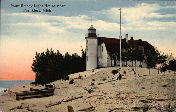 Point Betsey Light House Frankfort Michigan