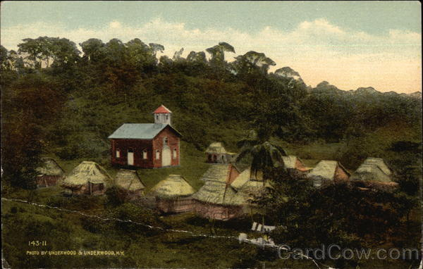 A Native Settlement Fort Chagres New York