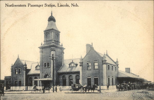 Northwestern Passenger Station Lincoln Nebraska