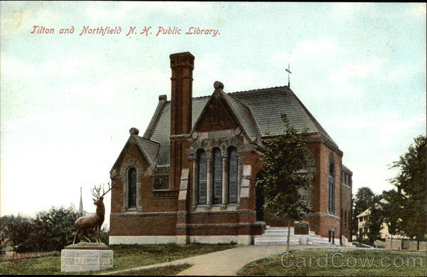 Public Library Tilton and Northfield New Hampshire