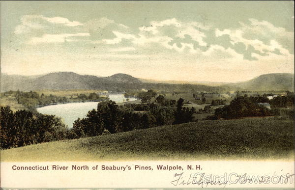 Connecticut River North of Seabury's Pines Walpole New Hampshire
