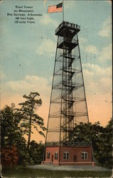 Steel Tower on Mountain