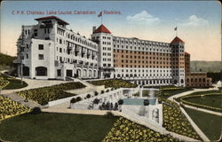 C.P.R. Chateau Lake Louise
