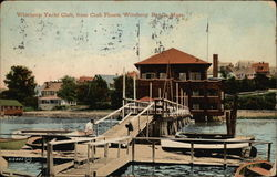 Winthrop Yacht Club, from Club Floats