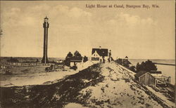 Light House at Canal