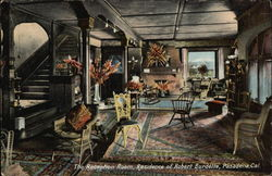 The Reception Room, Residence of Robert Burdette