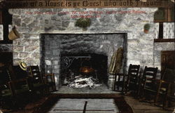 Fireplace, Alpine Tavern