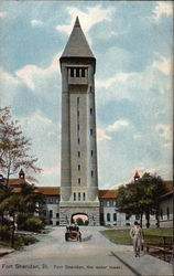 Fort Sheridan, the water tower