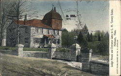Lodge House and Entrance Gates to C.H. Tenney Estate