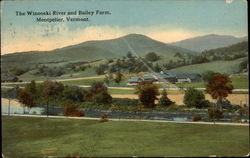 The Winooski Rier and Bailey Farm