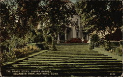 The Grass Steps, Sunken Garden, Elizabeth Park Postcard
