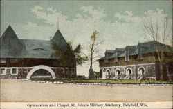 Gymnasium and Chapel, St. John's Military Academy