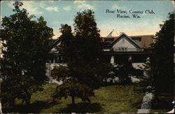Rear View of Country Club