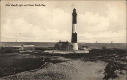 Fire Island Light and Great South Bay
