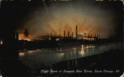 Night Scene of Iroquois Iron Works