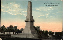Nathan Hale Monument