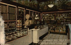 Interior, Isenberger Bros., Cigar Store, 3rd and Main Streets