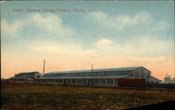 Buckeye Ditcher Factory Postcard