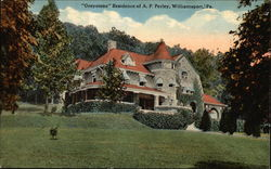 """Greystone"" Residence of A. P. Perley"