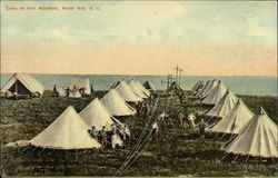 Camp at Fort Mansfield