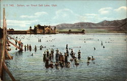 Saltair, on Great Salt Lake