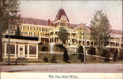 The New Hotel Weirs Postcard