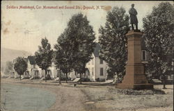 Soldiers Monument, Cor. Monument and Second Sts