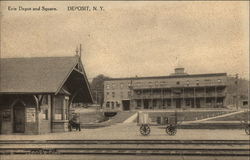Erie Depot and Square