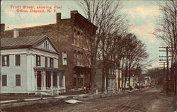 Front Street, Showing Post Office