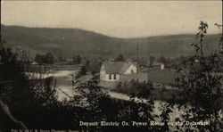 Deposit Electric Co. Power House on the Delaware