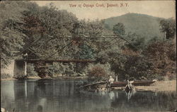 View of Oquage Creek