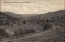 State Road toward Binghamton