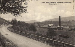 State Road, Showing Borden's Condensery